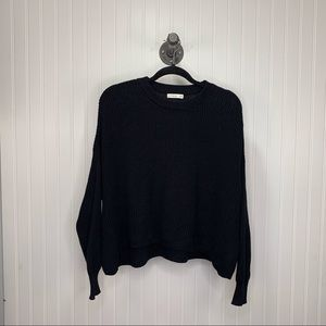 Cotton On Black Sweater - Size Medium